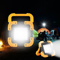 100W USB Rechargeable Solar LED COB Work Light Emergency Lamp Floodlight Newest