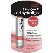 Chapstick Total Hydration Lip Balm, Coral Blush, 0.12 oz ( 2 Pack ) Quick Ship!