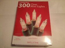 300 clear mini lights   59 ft