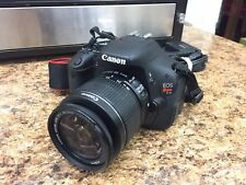 Canon EOS Rebel T3i 18.0MP DSLR Camera