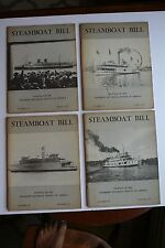 Steamboat Bill 1973: Spring, Summer, Fall & Winter Editions (125, 126, 127, 128)