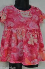 Magliette e maglie rosi per bambina da 0 a 24 mesi