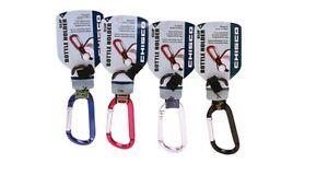 Chums Water Bottle Holder Clip Carabiner 4 Pack