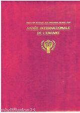 1979 - Classeur + 51 Enveloppes 1°Jour - Année internationale de l'enfant