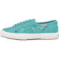 Superga 2750 Macramew Women Schuhe aquamarine S008YA0-969 Freizeit Sneaker