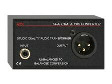 RDL TX-AFC1M Audio Transformer/XLR Phono