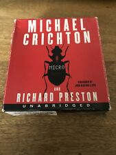 Micro by James Patterson (2011, CD Audiobook Unabridged)