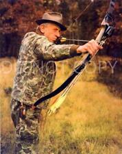 Antique Reproduction 8X10 Photograph Famed Hunter & Bow Maker Fred Bear