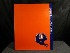 Vintage Denver Bronco Football Club Book Folder 1970'S Nice!