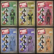 Planet of the Apes Green Lantern Comic Set 1-2-3-4-5-6 POTA Action Figure Covers