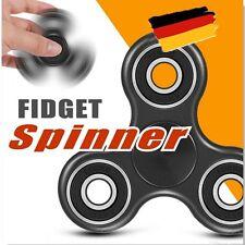 Fidget Spinner - Anti Stress Doigts EDC ADHS Concentration Jouet - Noir