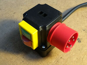 Schalter - Stecker - Kombination SSK820/400 400V 9A IP54 Unterspannungsauslöser