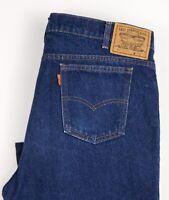 Levi's Strauss & Co Hommes 643 02 Vintage Orange Étiquette Jean Taille W44 L30