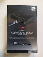 Ge Pro 4-Device Audio/Video Switch with S-Video 38807