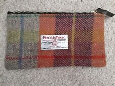 Harris Tweed clutch bag