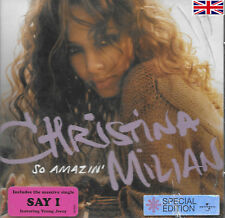 CHRISTINA MILIAN - SO AMAZIN - NEW SOUND TRACK CD - FREE UK POST