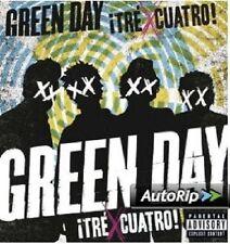 Green DAY-divi!/Cuatro! CD + DVD NUOVO