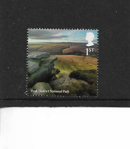 2021 GB. - NATIONAL PARKS GEOLOGY - PEAK DISTRICT - SINGLE STAMP - MNH.