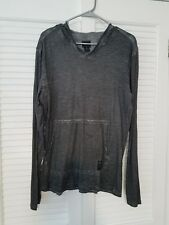 Men's Casual Hoodie Sweatshirt Hooded Coat Jacket Sweater Pullover Grey - med