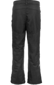 Lucky Bums Youth Snow Ski Pants with Reinforced Knees and Seat, X-LRG Blk