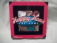Complete Nice 1997 Happy Hour Drinking Trivia Board Game Acquire the Tokens