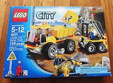 New Sealed 4201 Lego Pay Loader Dump Truck Tipper City Construction Mining Miner