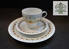 Tirschenreuth/Hutschenreuther Melodie Chantileen rot/gold 6 Kaffeegedecke 18 tlg