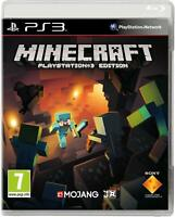 Minecraft PlayStation Edition (PS3) - MINT - Super FAST & QUICK Delivery FREE