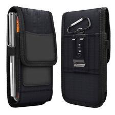 Men's Waist Bag Belt Clip Cell Phone Holster Wallet Case Card Slot Pouch Cover
