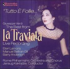Tutto E Follie: Best From La Traviata, Verdi, G., New Live