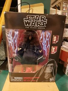 STAR WARS BLACK SERIES 6 INCH EMPEROR PALPATINE WITH THRONE Sealed