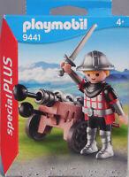 Playmobil Special Plus 9441 Ritter mit Kanone Munition Schwert Helm  NEU
