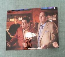 James Gandolfini & Stevie Van Zandt SOPRANOS Signed 8x10 Photo Authentic