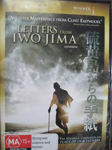 DVD ' LETTERS FROM IWO JIMA ' 1x DVD Australian Region 4 disc WW2 Battle