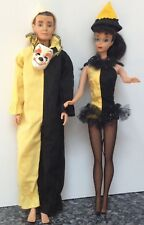 Barbie And Ken Masquerade Outfits #944 And #794 Vintage 1963-1964