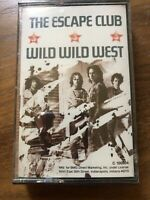 The Escape Club Wild Wild West Cassette Tape Brand New Sealed