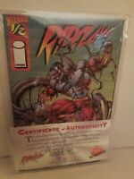 Image Comics Wizard Presents RIPCLAW 1995 #1/2 with COA TOP COW with Sleeve