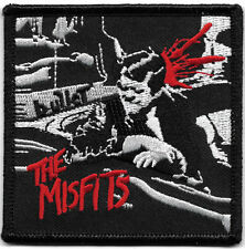 Misfits Bullet Embroidered Patch / Iron On Applique