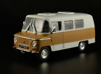 ZSD NYSA 521 Poland Commercial Minibus 1968 Year 1/43 Scale Diecast Model Car