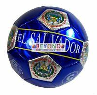World Soccer Futbol EL SALVADOR ALL WEATHER Soccer Ball Official Size 5