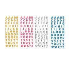 Kristall  Sticker Alphabet Buchstaben Aufkleber Selbstklebend Wandtattoo Gifts
