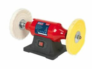 sealey bb2002 Polishing machine Bench Mounting buffing & cutting mops sisal g b