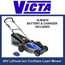 Victa V-force 40v Cordless Lawn Mower Battery & Charger Included
