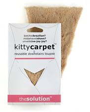 Kitty Carpet: Reusable Toupee Merkin - Pubic Wig Hair, White Elephant Gag Gift