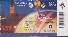 Ticket GAZ METAN MEDIAS vs KUPS KUOPIO (Finnland) - Europa League - 21/07/2011
