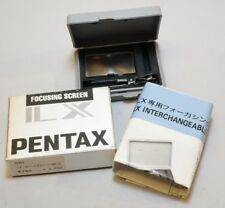Pentax LX Camera Full Matte Split Image Focusing Screen SB-21