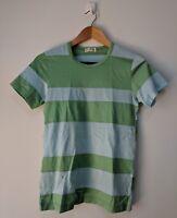 Comme des garcons Japan striped patched vintage 90s Rare ladies tshirt S