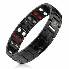 Titanium Magnetic Therapy Bracelet for Pain Relief Arthritis and Carpal Tunnel