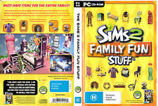 D3 The Sims 2: Family Fun Stuff by Electronic Arts CD ROM