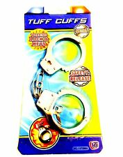 Toys Metal Hand Cuffs Fancy Dress Children Pretend Play For Kids.